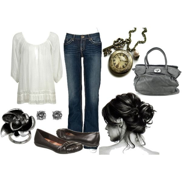 Comfy Outing, created by sagittmama on Polyvore