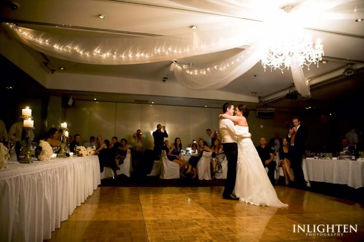 Dockside - Inlighten Photography-  Romantic bride and groom first dance at Dockside venue, Sydney.