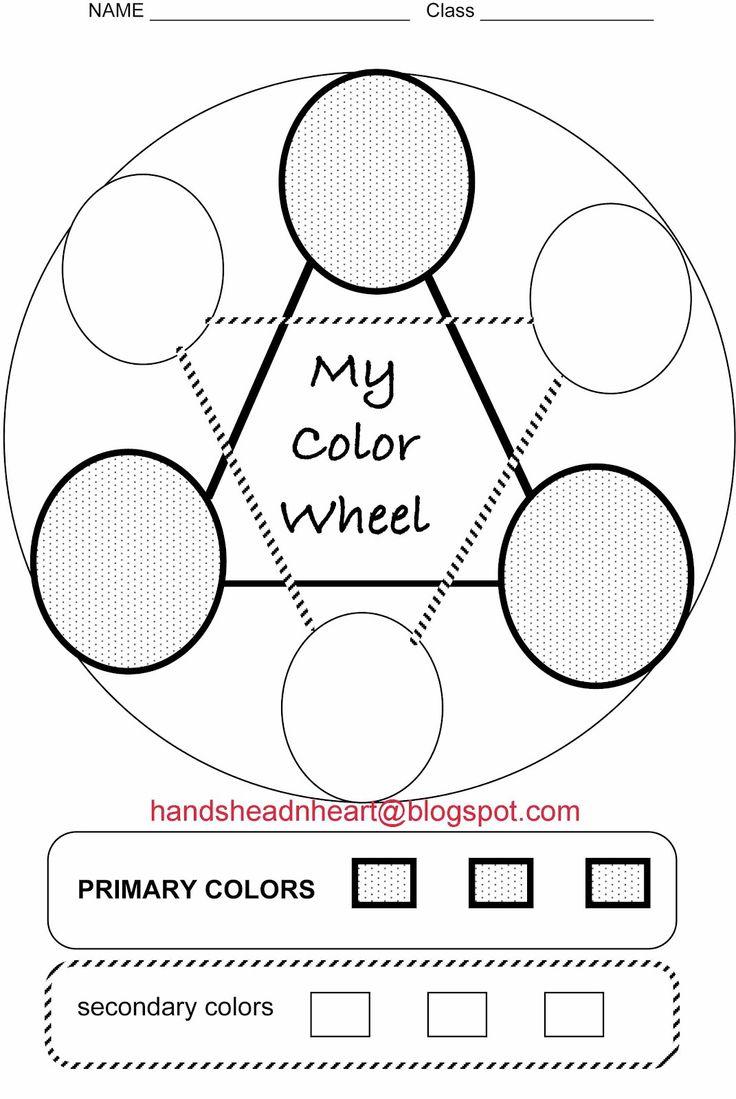 Hands head n heart in the artroom color wheel