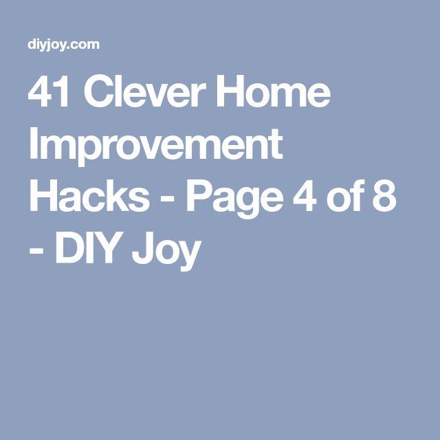 41 Clever Home Improvement Hacks - Page 4 of 8 - DIY Joy
