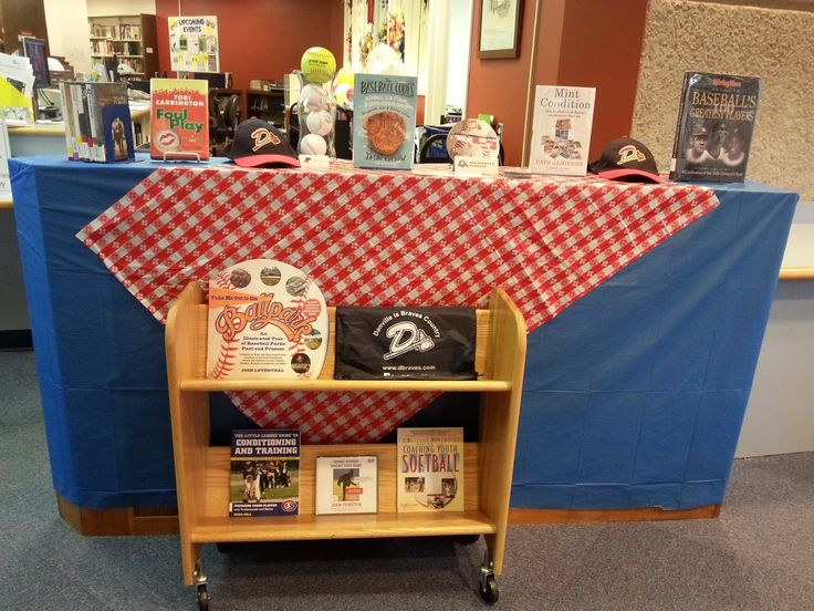 Root for the home team! Danville Public Library--VA