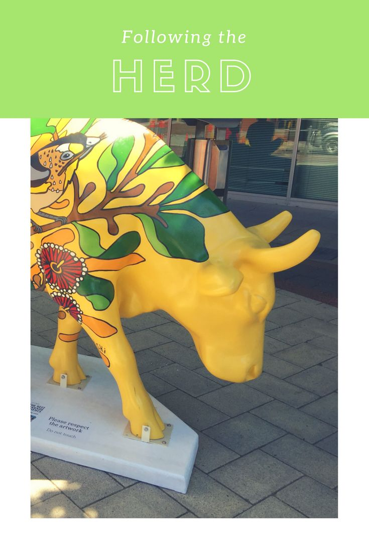 We had our dose of all things cow and were udderly delighted to be following the herd and join the moo'vement cowspotting at the Cow Parade.