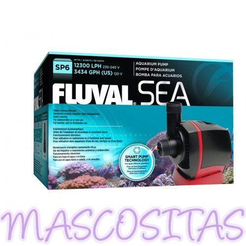 Bomba Sump Fluval Sea. Ingeniería y Fabricación Europea Para Acuarios de Agua Dulce o Salada. MUY EFICIENTE, SERIE PROFESIONAL.