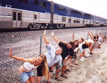 I'll never forget seeing this while riding the train with my grandmother in California!  I was 12!