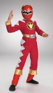 Red Power Ranger Costumes--figure out how to make something similar to this for Will's Halloween costume
