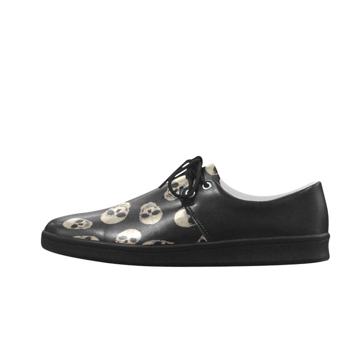 The Living Skull Brogue lace up Men