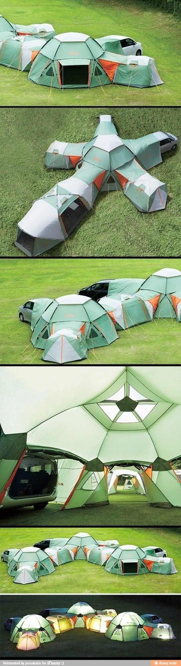 Maybe I could camp like this!!!