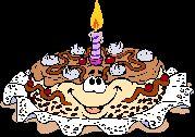 Zum Geburtstag - Seite 4 - Das kostenlose Gif und gratis Clipart Archiv - kostenlose animierte Gifs & gratis Cliparts