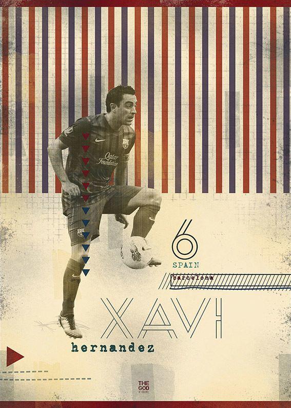 The Gods Of Football (Part I) by Marija Marković, via Behance