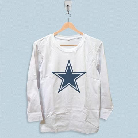 78b548be Long Sleeve T-shirt - Dallas Cowboys Star Logo | LONG SLEEVE ...