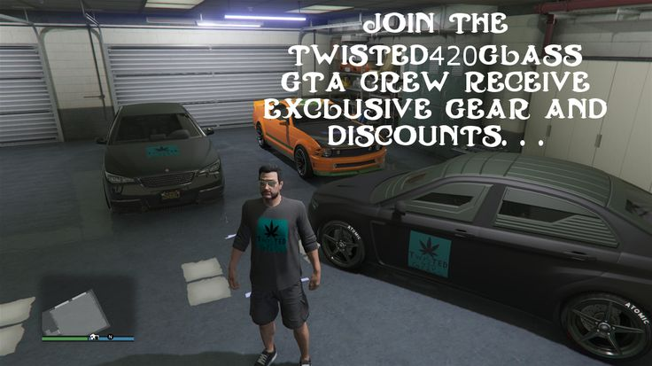 Join us here https://socialclub.rockstargames.com/crew/twisted420glass