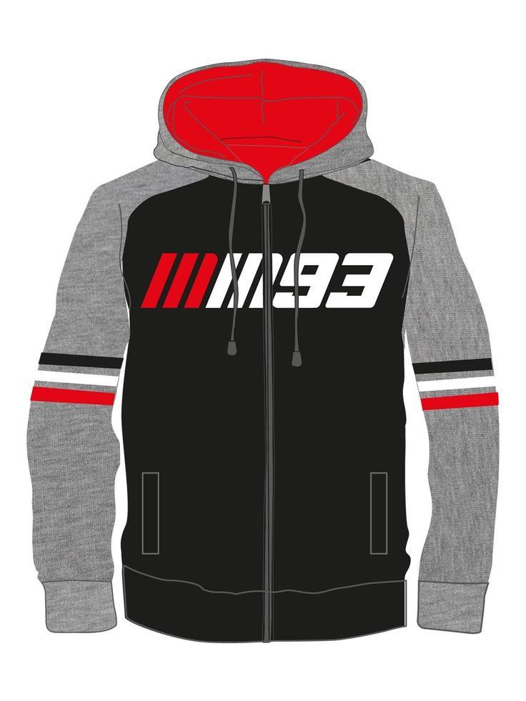 Children's version of the sweatshirt with Marc Marquez hood.