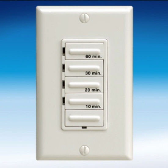 Timer Switch Bathroom Fan: Electronic Timer Control With Decora-style