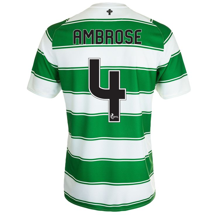 BUY Efe Ambrose's Celtic Home shirt for 2015/16 from the Celtic Superstore.
