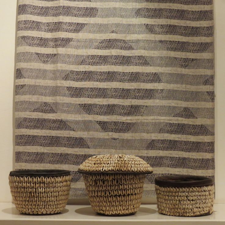 Contemporary South African hand-printed textiles at Kim Sacks Gallery Johannesburg
