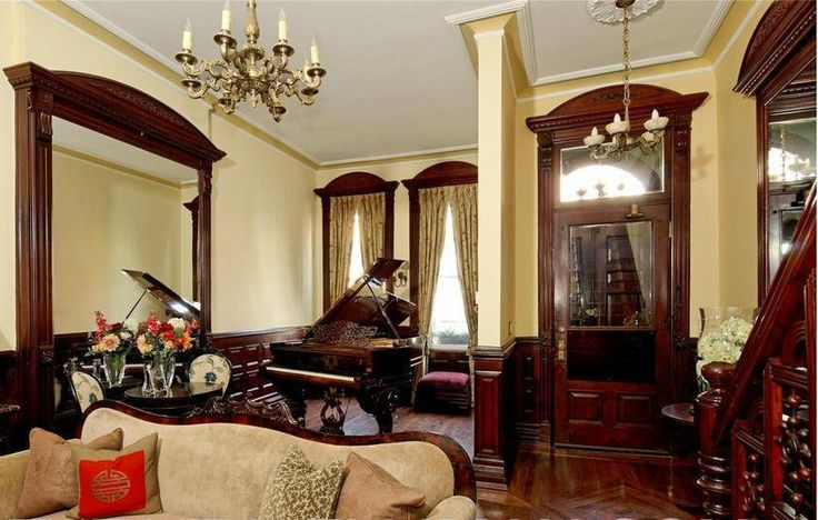 1000 images about harlem ny brownstones on pinterest for New york brownstone interior design