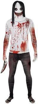 PartyBell.com - Jeff the Killer Adult Morphsuit Costume