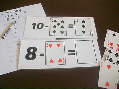Adjust to 5th by using 100 - _ _= ? Or 100 - ? = _ _ Even could use cards to make fractions and add them (unlike and/or improper fractions)
