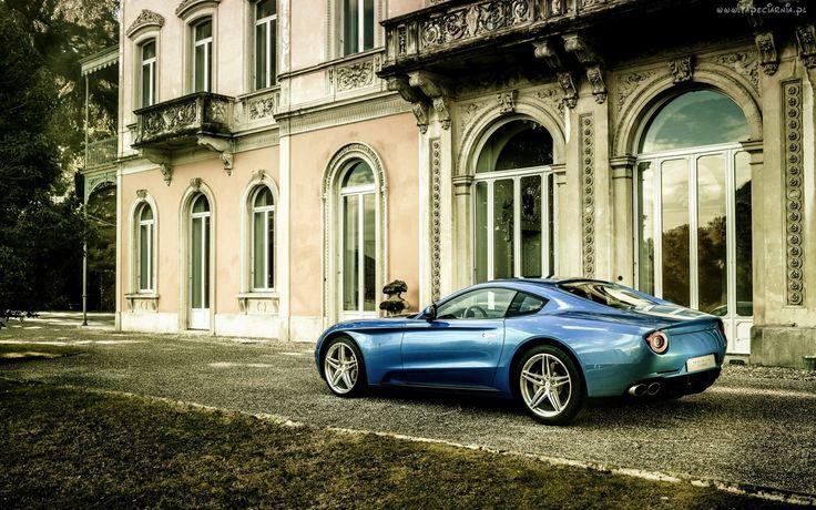 Samochód, Ferrari, Budynek