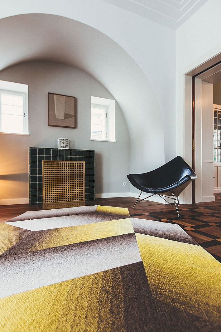 Fast Take With Carpet Maker Peter Ruckstuhl DesignInterior Design MagazineRug