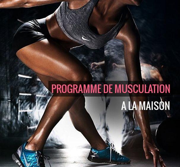 Programme de musculation à la maison   Musculation au féminin