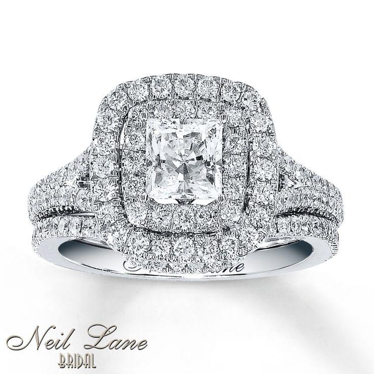 43 best wedding ring sets images on Pinterest Bridal sets