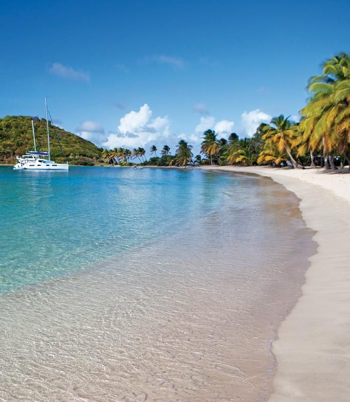 A secret hideaway in St. Vincent & The Grenadines. (Kate Middleton, Victoria Beckham, and Mick Jagger are all known to spend time here!)