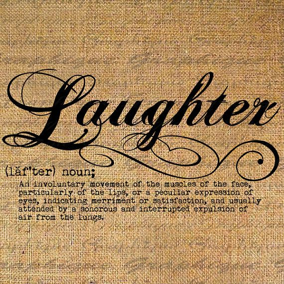 Laughter Definition Word