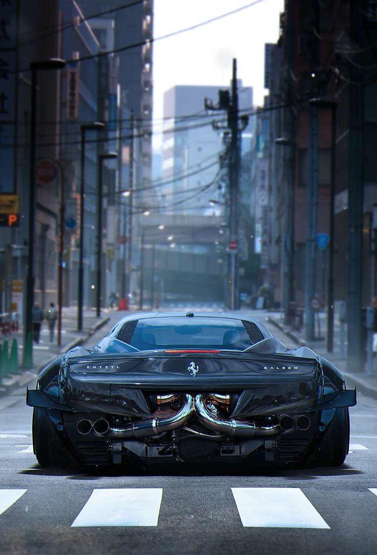 Beast In The City #Ferrari