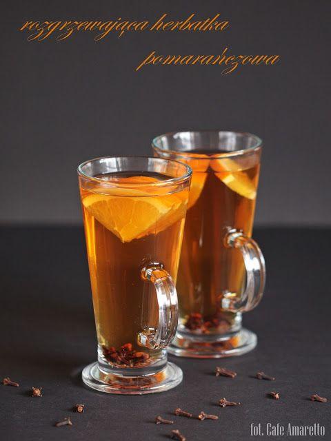Rozgrzewająca herbata pomarańczowa z goździkami
