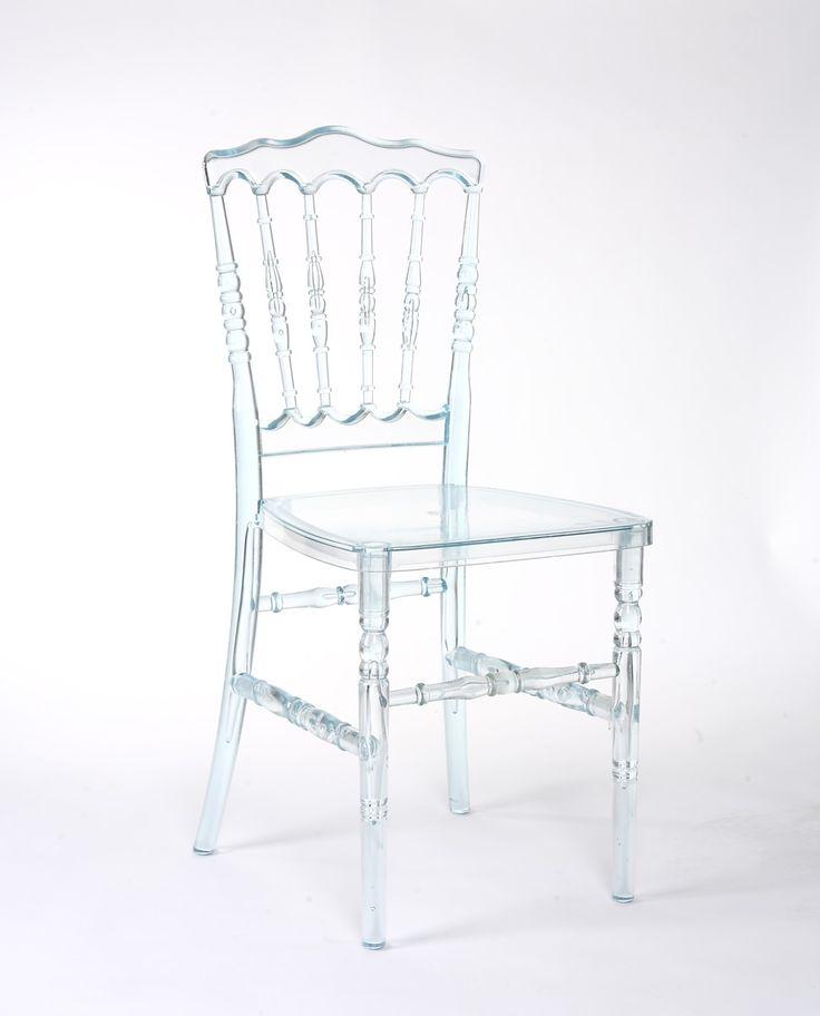 Delightful Acrylic Ghost Chair   Napoleon