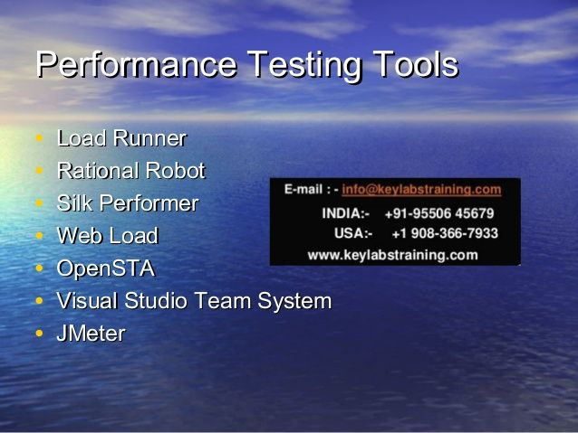 Loadrunner online Training by real time and highly experienced trainer. Loadrunner online Training covers advanced topics in Vugen scripting, Controller and Analysis. Performance bottleneck analysis, O/S monitoring and Database monitoring will be covered as part of the training, we are one of the best training institute for Loadrunner training.  We will provide training on Jmeter also. http://www.keylabstraining.com/loadrunner-online-training Contact us on : info@keylabstraining.com .