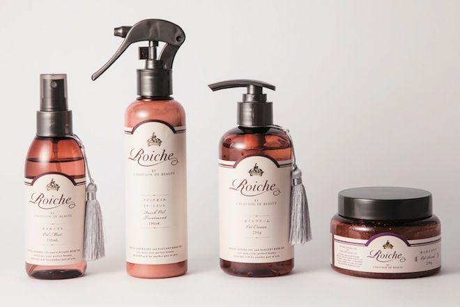 オイルを贅沢に配合した新ブランド「ロイーシェ」が誕生。---------------------- 豊かさと気品のある女性らしさを引き出す新ブランド「ロイーシェ」が、2014年9月5日(金)にデビュー。高い浸透力と保湿力を兼ね備えたホホバオイルと、女性のホルモンバランスを整えて、アンチエイジング効果も期待できるローズオイルの2つのオイルを贅沢に配合。ヘアケア2品とボディケア2品の計4品がラインナップし、艶と潤いのある髪と、しっとりなめらかなボディを実現する。 CDB ロイーシェ ヘア オイル ミスト 130ml ¥1,300 CDB ロイーシェ クイック ヘア オイル トリートメント 190ml ¥1,000 CDB ロイーシェ ボディ オイル クリーム 250g ¥1,300 CDB ロイーシェ ボディ オイル スクラブ 220g ¥1,300 (すべて9月5日発売) 問い合わせ先/エクスパンド 03-3492-7040 http://www.expand-japan.com Manami Ren