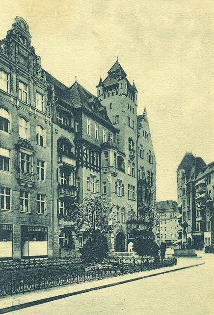 Berlin   Schöneberg. Haberlandstraße, 1909