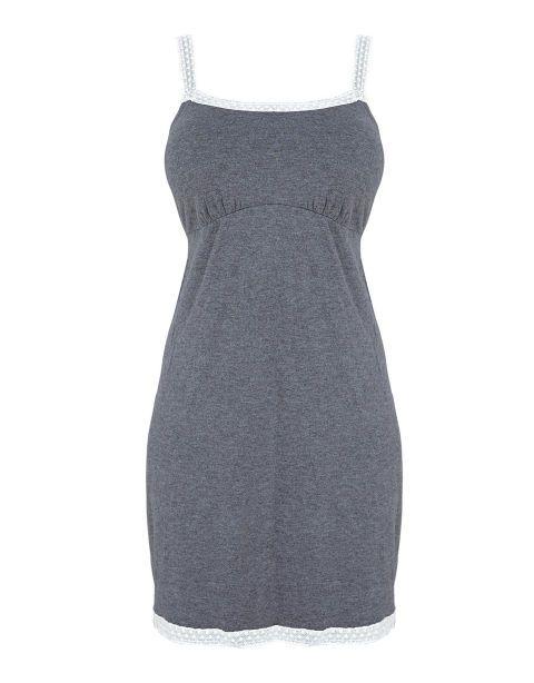 Bravissimo Lace Trim Nightdress, $58; bravissimo.com