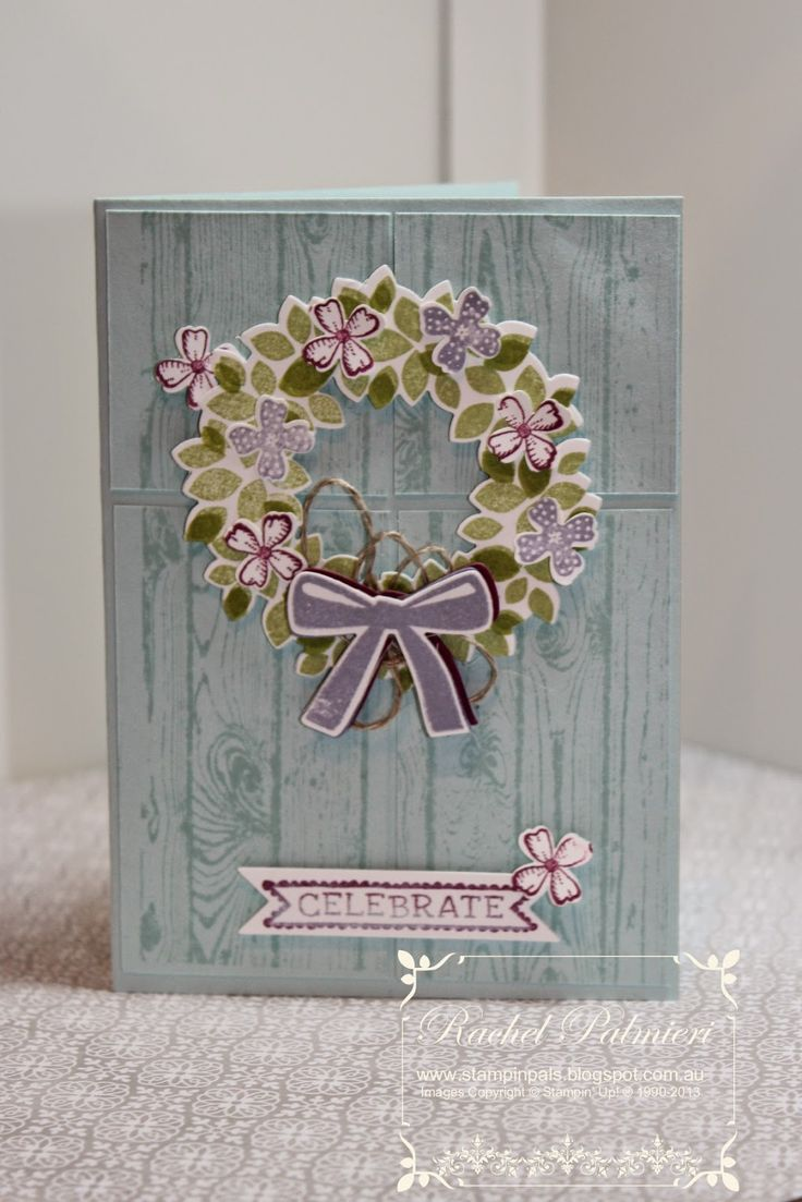 Rachel @ Stampin' Pals,Stampin' Up! Holiday Catalogue, Wondrous Wreath, Sketched Birthday, Hardwood,
