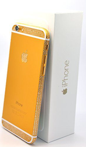 Apple Iphone 6 - 16gb Gold Plated 24k with Swarovski Crystals / Gold and White/ Verizon - Factory Unlocked/ International/ SIM Free iColorLCD http://www.amazon.com/dp/B00R1YV7SW/ref=cm_sw_r_pi_dp_HDRkvb0M9MDCF