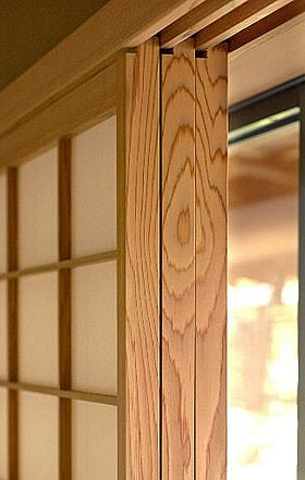 Kyoto State Guest House 京都迎賓館, artistry of matching boards where no one will look