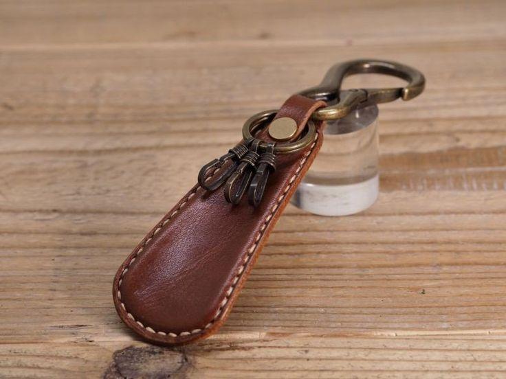 靴べらキーホルダー(ブラウン)