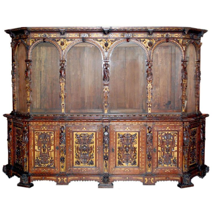 Renaissance Style Cabinet Dated 1566 Italy Early Or Mid 1800u0027s Stunningly  Beautiful Masterpiece In White
