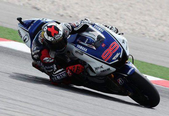 Wallpaper MotoGP - Jorge Lorenzo (Sepang Malaysia) 2012