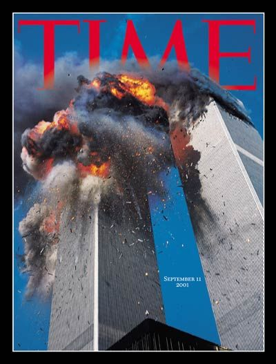 Time magazine cover Sept. 11, 2001