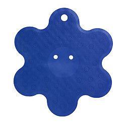 IKEA PATRULL shower mat Suction cups keep the mat safely in place in your bathtub or shower.