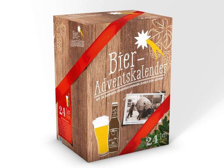 bieradventskalender zum selbst bef llen bier advent. Black Bedroom Furniture Sets. Home Design Ideas