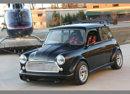 1975 Austin Mini Cooper with Honda Type-R engine swap.