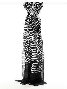 Trina Turk Zazzy Zebra scarf | Banana Republic: Turk, Sensation Scarves, Black White, Republic Scarf, Cyber Closets, Banana Republic, Bananas Republic, Scarf Black, Zebras