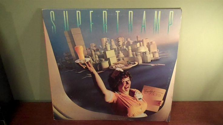 "Supertramp ""Breakfast In America"" Vinyl Record Album. $7.00, via Etsy."