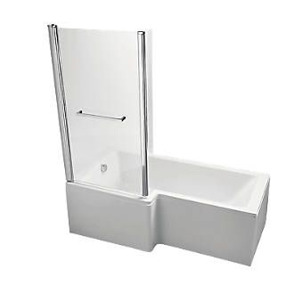 Order Online At Screwfix Stylish Contemporary Dual Use Bath Supplied With