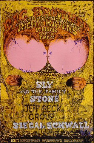 Big Brother and the Holding Company, Richie Havens, Sly & the Family Stone
