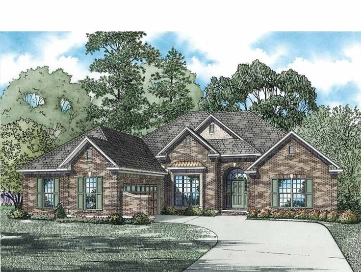 images about House Plans on Pinterest   Square feet  House    Eplans New American House Plan   Versatile Floor Plan   Square Feet and Bedrooms